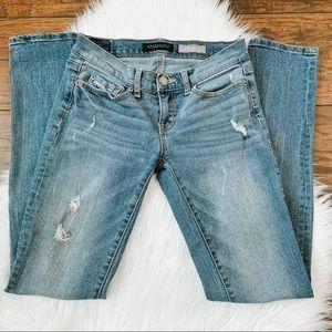 Aeropostale Distressed Skinny Jeans Size 00